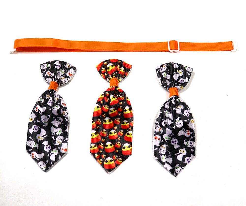 New 100ps Halloween Pet Grooming Supplies Detachable Pet Dog Necktie Samll Dog Cat Pet Puppy Christmas Halloween Ties Bowties