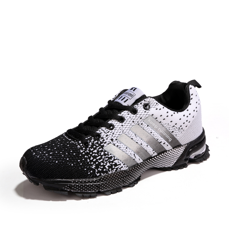 Marche fluorescent Lace Hommes Léger Grande white 47 Respirant Red De up Black Black blue Mesh Green purple Confortable Taille Été Homass Mode Casual Unisexe Chaussures Sneakers BFwzz