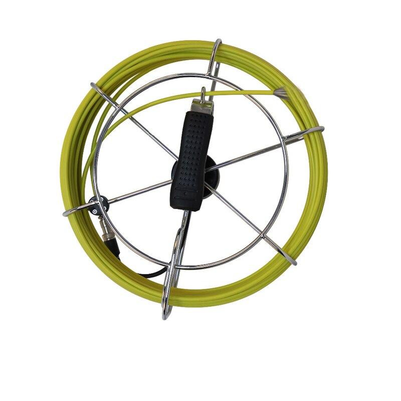 Cable de gafas de fibra de 30 m con conector de cámara para inspección de tuberías de 23mm Cable de repuesto de cámara de serpiente 30 metros-in Cámaras de vigilancia from Seguridad y protección    1