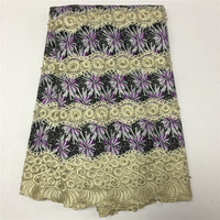 Party Dress Guipure Wax Nigeria Embroidery Ankara African Fabric Lace X15 1