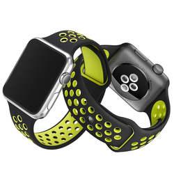 SZKOSTON Гибкая силиконовая спортивный ремешок для Apple Watch замена ремешок для Apple Watch полосы серии 3 2 1