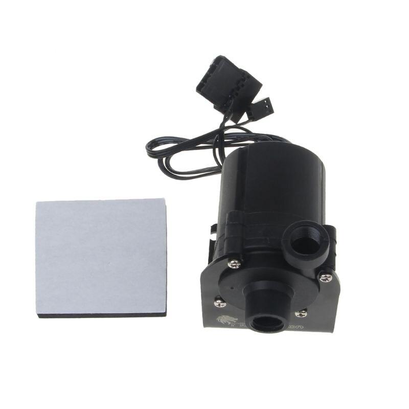 Sanitär Pumpen Sc800 Sc600 12 V 10 W Dc Wasserpumpe 600 L/h G1/4 eingang Und Ausgang Verwenden Für Wasser Kühlung Mit Pumpe Halter Für Cpu