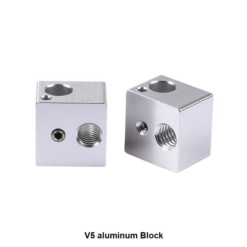 100 unids/lote 3D accesorios de la impresora todo metal calefacción bloque de ex