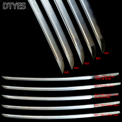 Katana Customization-Katana Fittings Blade 1060 1095 High Carbon Steel Steel Pattern Steel Serial Number Ba01-Ba05 To Choose