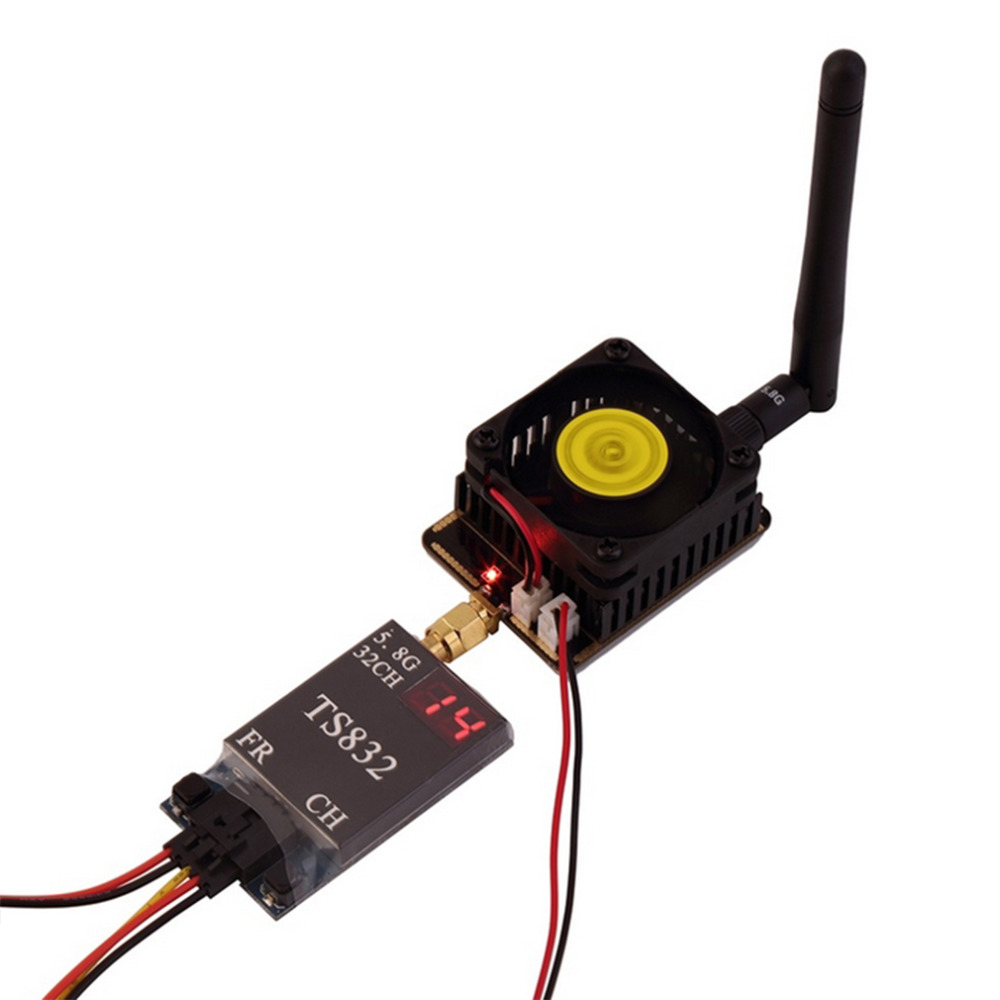 20 Mr16 Quad Cree 1w Emitter Le Rc 58g Transmitter Power Amplifier 4500mw Fpv Signal Enhancer To Improve Transmission Range And The
