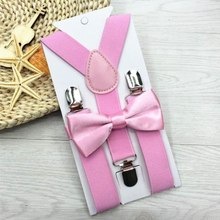 Man's Suspenders 6 Clips Leather Braces Casual Suspensorios Trousers Strap Gift