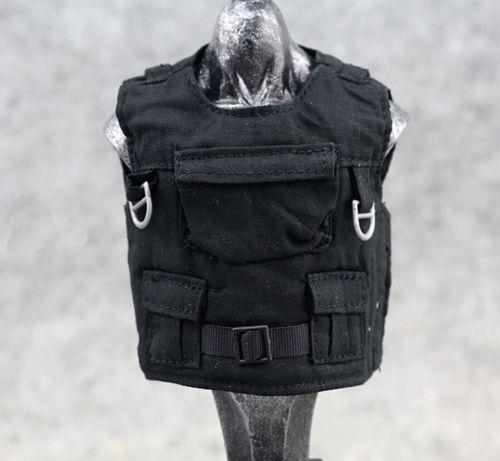 купить 1:6 Scale Action Figure Toy Black Body armor / Tactical Vest Clothes недорого