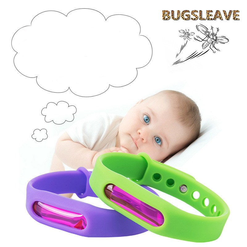 Image 4 - 5pcs/lot Wristband Anti Mosquito Pest Insect Bugs Repellent Repeller Wrist Band Bracelet 25-in Repellents from Home & Garden