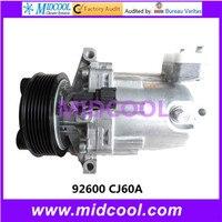 ALTA QUALIDADE AUTO AC COMPRESSOR DKV08 PARA 92600 CJ60A|compressor|compressor accompressore auto -