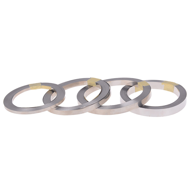 10m 3/5/6/8mm 18650 Li-ion Battery Nickel Sheet Plate Nickel Plated Steel Belt Strip 0.1mm Connector Spot Welding Machine