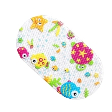 цены baby Bath tub mat Cartoon anti-slip bath mat for babies Cushion Newborn Infant Bathing Pad Baby Care Foldable Safety Net Tub