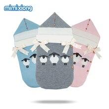 Alpaca Envelope for Newborn Baby Sleeping Bags Winter Warm Infant Stroller Sleep Sacks Cute Animal Bebe Swaddle Wrap Cocoon 0-1Y