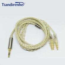 Upgraded Cable for Sennheiser Headphone HD525 HD545 HD518 HD565 HD650 HD600 HD5806 Headphones Replacement Audio Cable Cords
