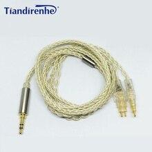 Zmodernizowany kabel do słuchawek Sennheiser HD525 HD545 HD518 HD565 HD650 HD600 HD5806 słuchawki wymiana przewody Audio