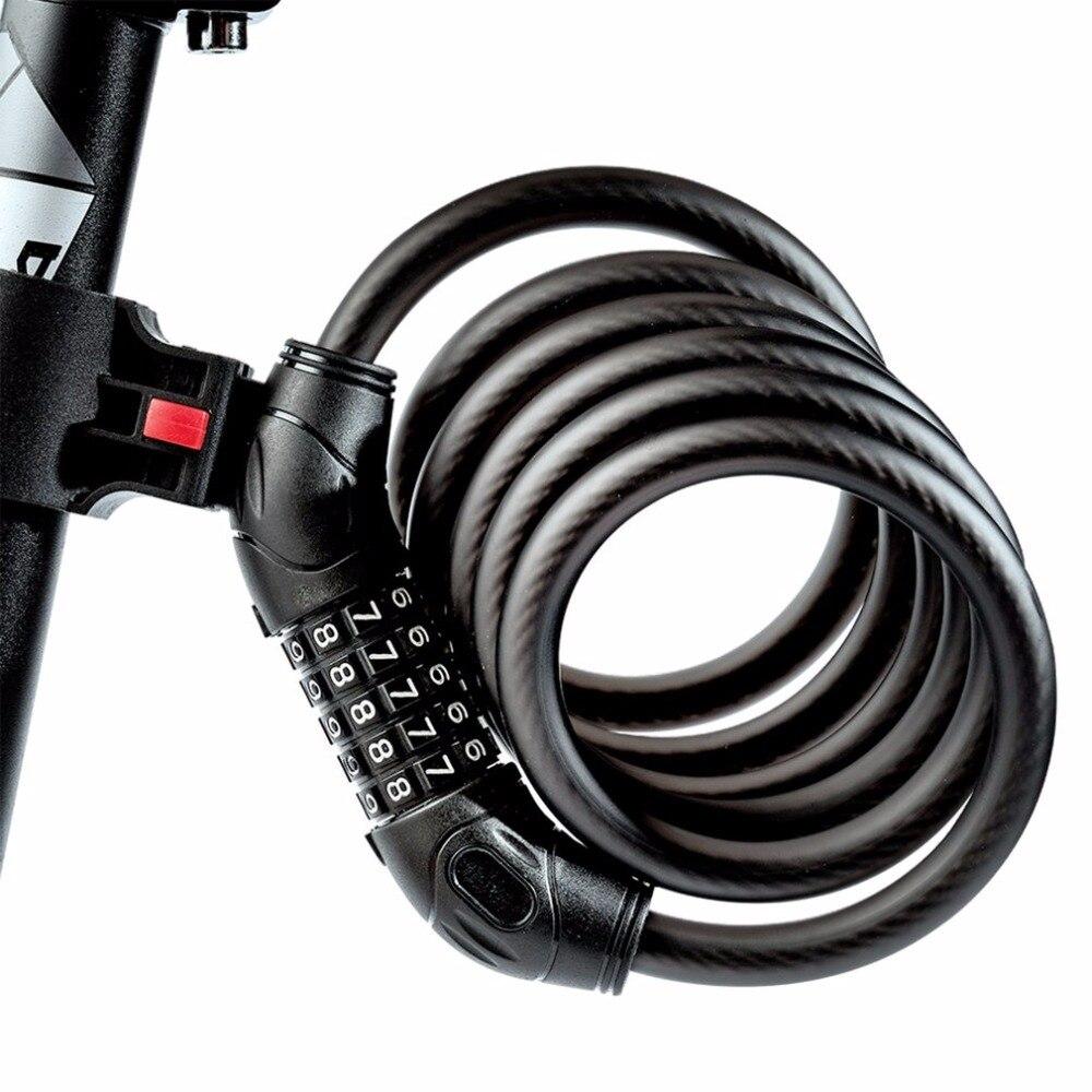 RAD BIS 1,2 Mt/1,8 Mt Stahldraht Fahrradschlösser Cable ...