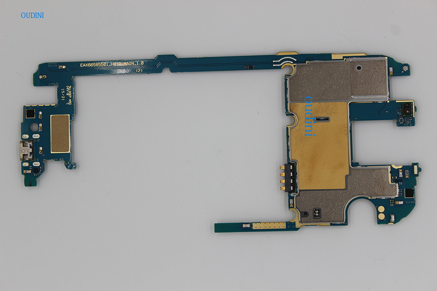 Image 4 - oudini 100 % UNLOCKED 32GB work for LG G4 H818 Mainboard,Original for LG G4 H818 32GB Motherboard Test 100% & dual simcard-in Mobile Phone Circuits from Cellphones & Telecommunications