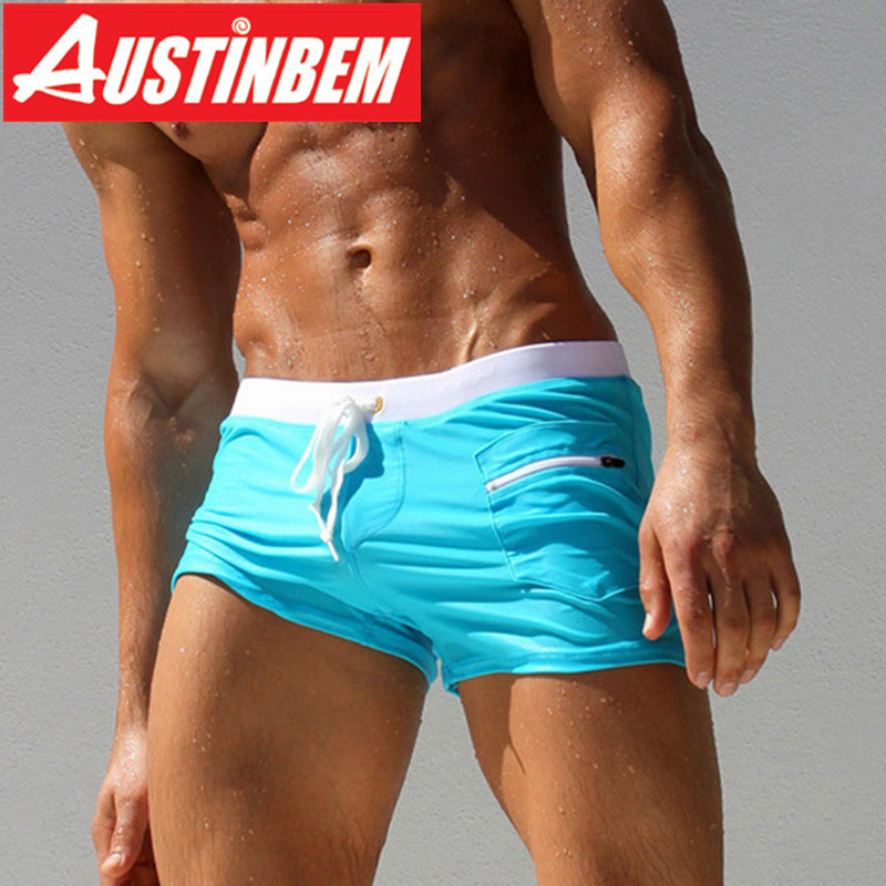 AUSTINBEM férfi fürdőruha szexi fürdőruha Sunga férfi meleg - Sportruházat és sportolási kiegészítők - Fénykép 1