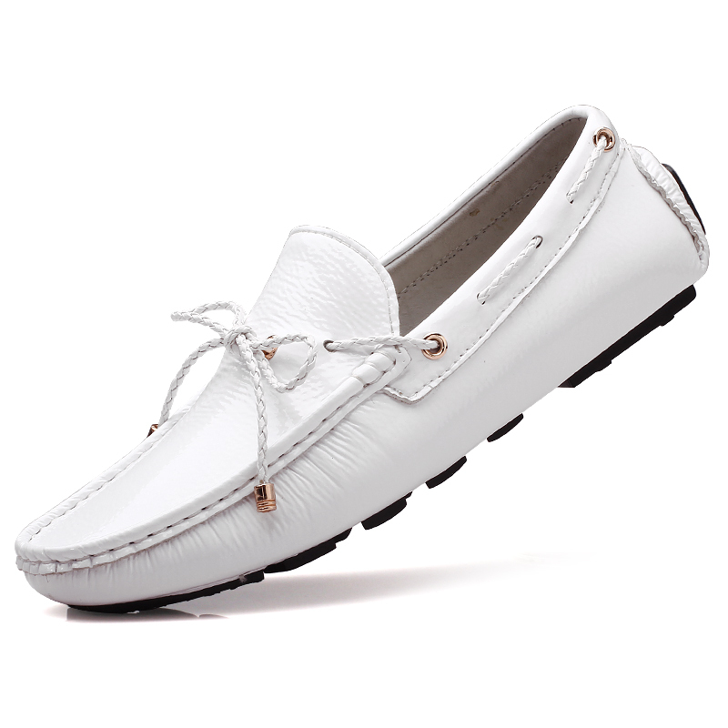 Clean White Leather Dress Shoes
