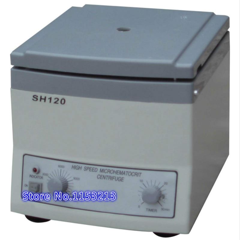 SH120 Hight speed microhematocrit centrifuge laboratory