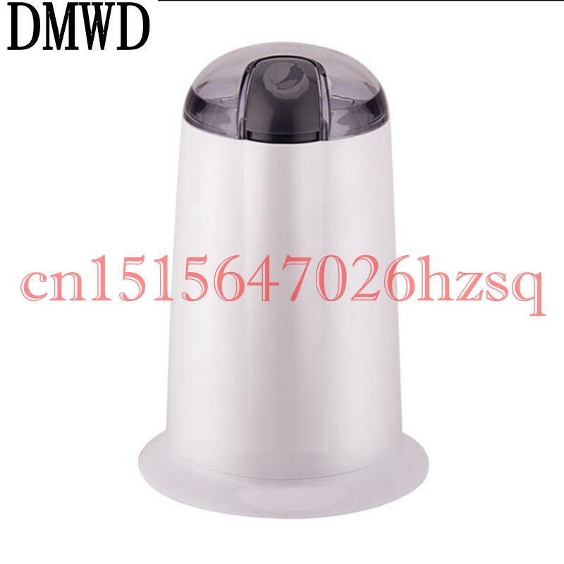 DMWD Multifunctional Household Coffee Grinder Grinding Miller Beans Nuts Baby Food Grinder Mill Stainless steel blade Powder 454g gold medal socona coffee beans coffee powder green slimming coffee beans tea