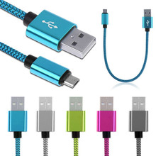 Braided Aluminum Micro USB Data&Sync faster Charger Cable For Android Phone Futural Digital MOSUNX F35