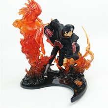 Anime Naruto PVC Action Figure 23cm Uchiha Itachi Sasuke Collection Toy