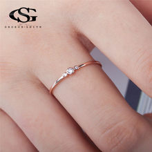 GS 3pcs 0.25ct Zircon Wedding Rings For Women Three Lifetimes Love Promise Oath Finger Woman Engagement Ring Brides Jewelry G5GD(China)
