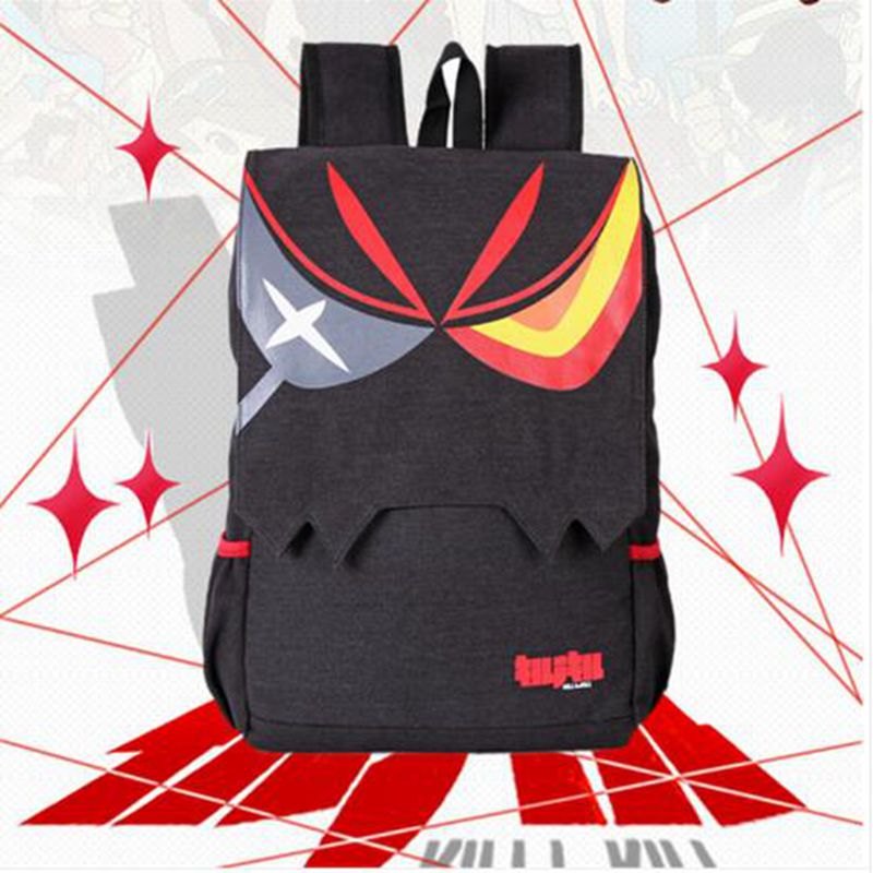 Free shipping  2016 New Anime Kill La Kill Matoi Ryuko Unisex Canvas Backpack School Travel Shoulder Bag Free Shipping цена 2016