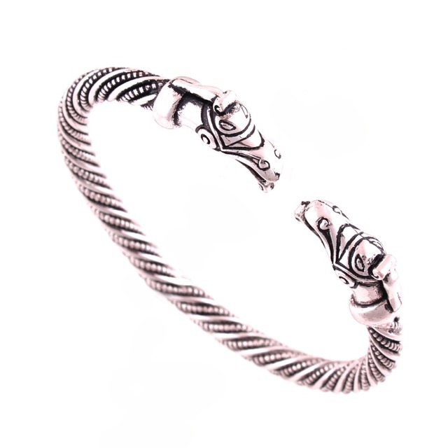 Dragon Bangle Bracelets Silver Screw Bangles Mens Cuff Bracelets