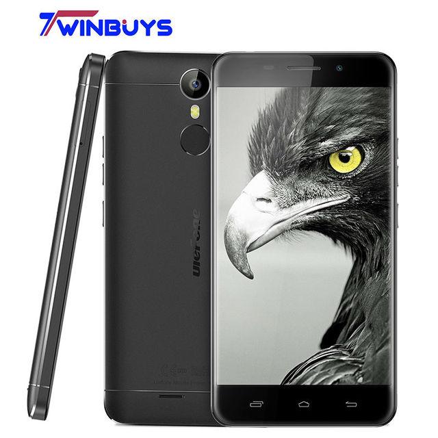"ulefone Metal Lite 3G WCDMA Mobile Phone fingerprint 5.0"" MT6580 Quad Core Android 6.0 RAM 1GB ROM 16GB 3050mah 13MP Smartphone"