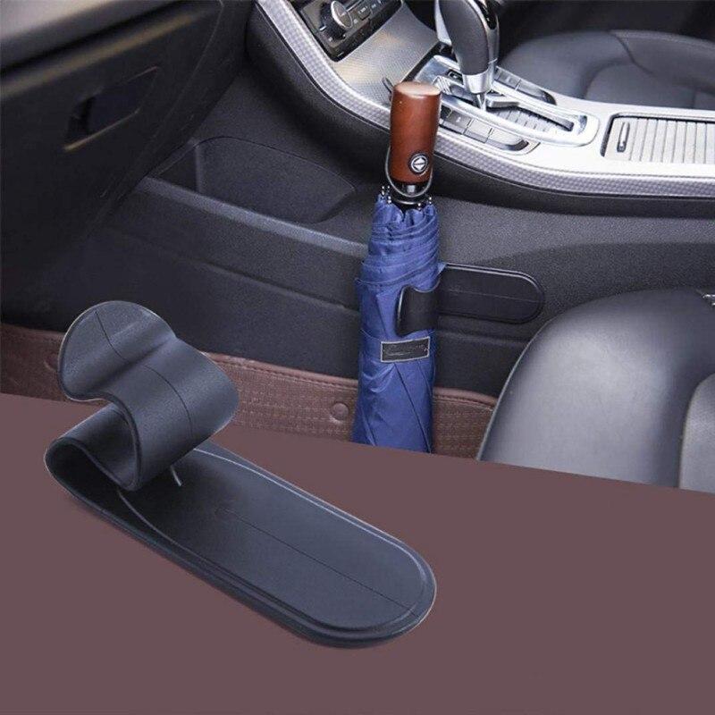 Универсальный Авто зонтик крюк мультихолдер вешалка автомобиль фиксатор для сиденья крепежная стойка автомобильный зонтик крюк Держатель