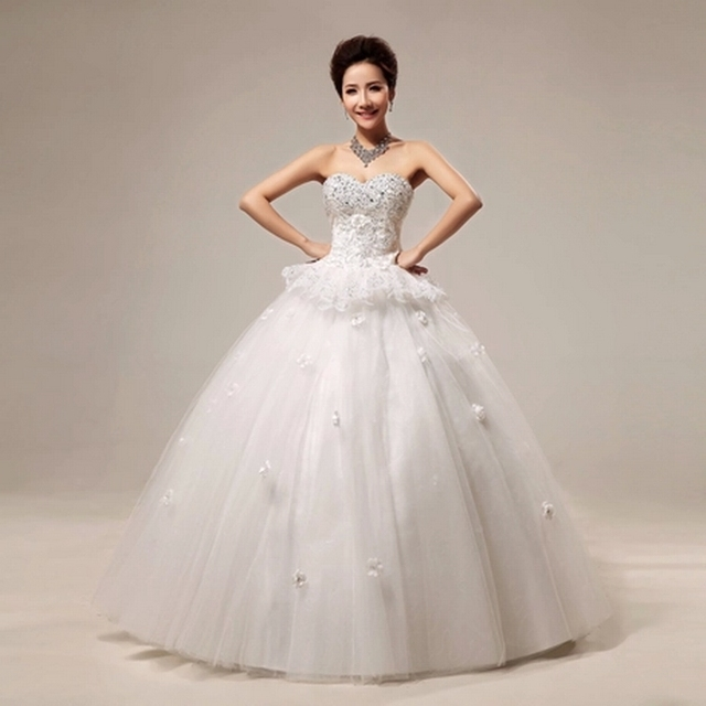 Tianjin Store At Half Price Rent Authentic Luxury White Wedding