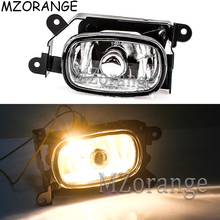LED Front Bumper Driving Fog Light For Mitsubishi Outlander 2003 2004 2005 2006 2007 Fog Lamp Assembly Super Bright With Bulbs xenon headlights car styling for mitsubishi outlander 2003 2005 front head lamp