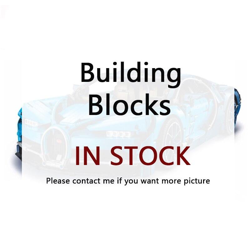 En Stock DHL Lepining 20086 20001 20001B 23006 20087 Technic série voiture modèle blocs de construction briques compatibles 42083 cadeaux jouets - 2