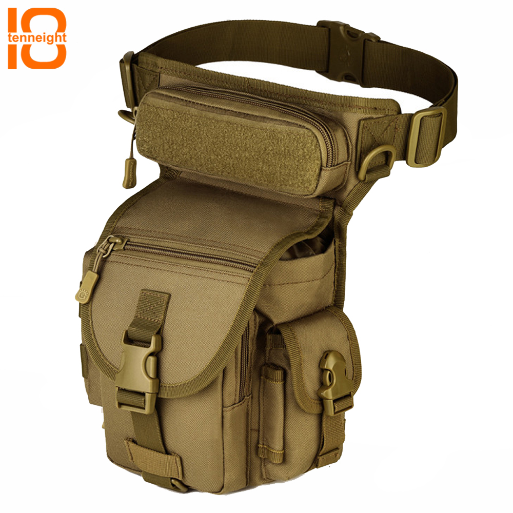 TENNEIGHT extérieur militaire tactique taille sacs Nylon imperméable escalade voyage Camping sac à dos armée ventilateur équipement taille sac