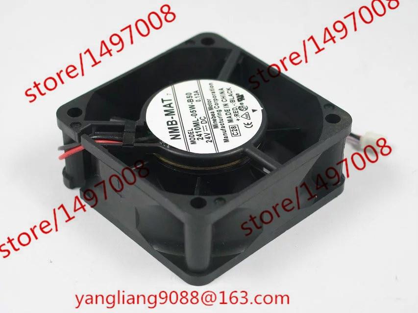 NMB-MAT DA04010B05L C28 DC 24V 0.13A 2-καλώδιο 60x60x25mm τετράγωνο ανεμιστήρα