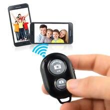 Universal Sem Fio Bluetooth Controle Remoto Câmera Do Telefone Monopé Selfie Vara Mini Controle Remoto Do Obturador Para IOS Andriod Telefones