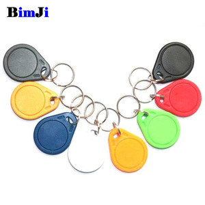 Image 1 - 10pcs 13.56mhz UID RFID 13.56 mhz Changeable Tag Keyfob Blank Writable Card Rewriteable for Copier Writer Duplicator Copy