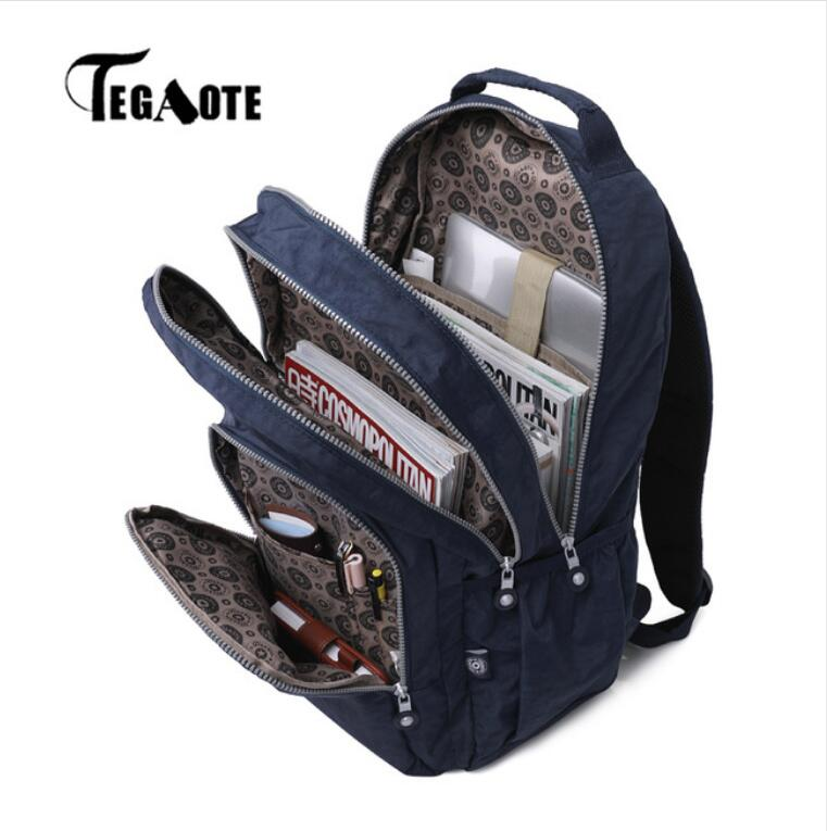 TEGAOTE Backpacks for Women Teenage Girls School Backpack Female Mochila Feminina Laptop Bagpack Travel Bags Casual