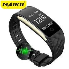 NAIKU NK2 Спорт Смарт запястье браслет монитор сердечного ритма IP67 Водонепроницаемый Bluetooth Smart Брас для iphone Android