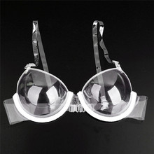 JUMAYO SHOP COLLECTIONS – TRANSPARENT CLEAR BRASSIERE