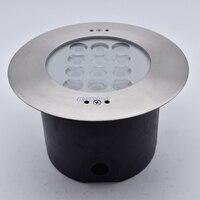 36W IP68 LED Swimming Pool Lamp RGB 316 Stainless Steel 24V Underwater LED Spot Light Color