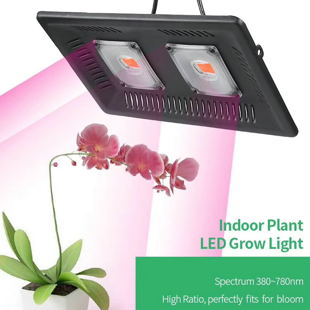 online store 9c8ad 8ce35 US $20.74 55% OFF|Plant Grow Flood light Outdoor IP67 Waterproof LED Grow  Light 100W 200W 300W Flowers Grow Lamp For Vegs Hydroponic System-in LED ...