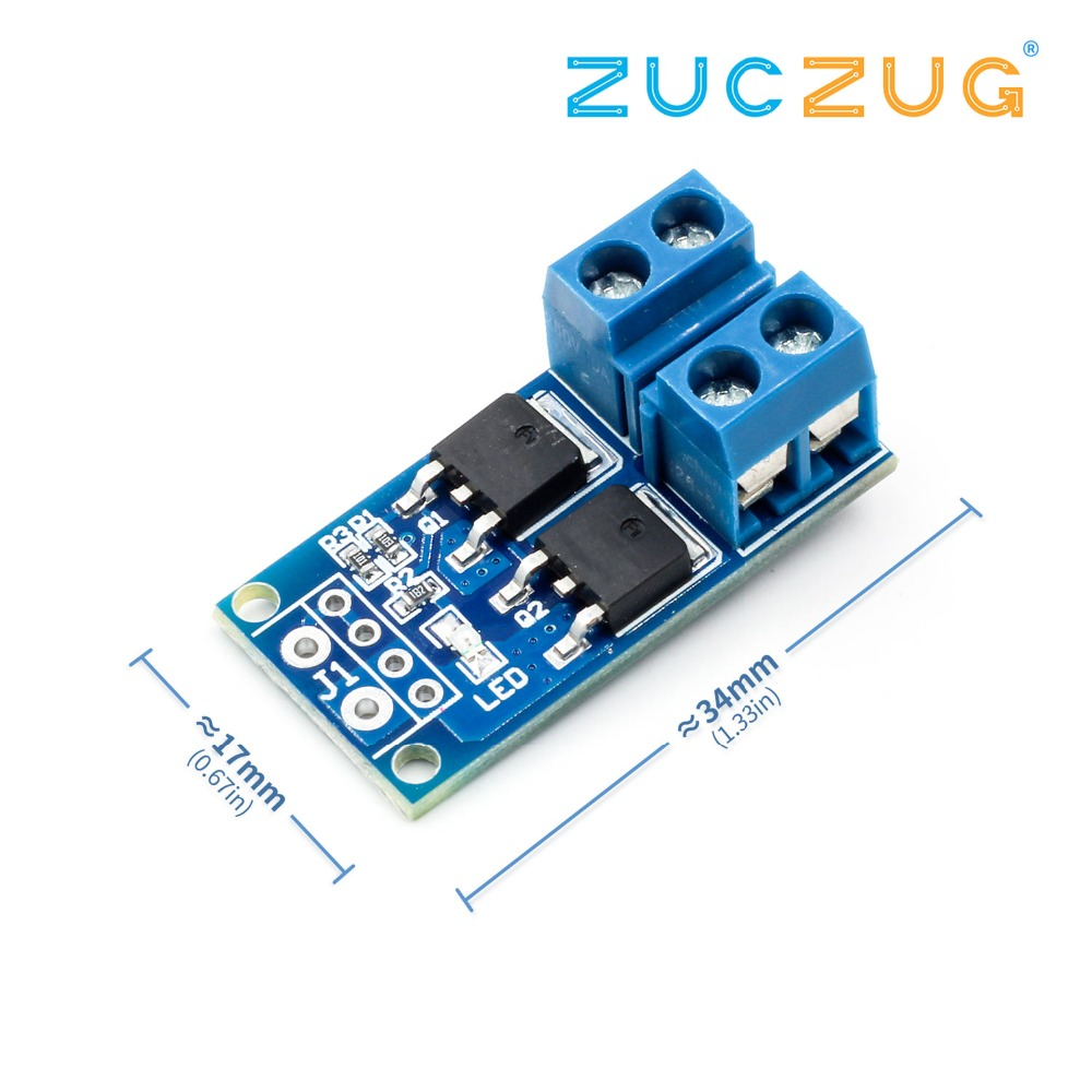 MOS Field Effect Transistor Trigger Switch Driver Board PWM Control Electronic Wwitch Control Panel Module