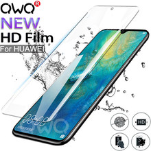 10D Hydrogels For huawei P20 Mate 20 10 Lite Pro P Smart 2019 full curved screen protector For Honor 9 10 Lite Protective film(China)