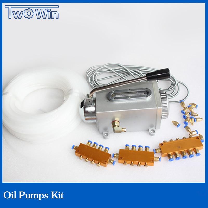 oil pump kit hydraulic pump 1pcs oil pump + 1set Oil passage for Engraving machine все цены