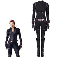 Avengers Endgame Black Widow Cosplay Costume Halloween Women Costumes Avengers 4 Natasha Romanoff costume Black Widow Jumpsuit