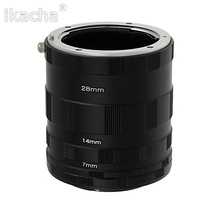 цена на Macro Extension Tube Set For Nikon D3200 D3300 D5200 D7100 D5300 D7200 D7000 D3100 D90 D5100 D5500 Digital SLR Camera