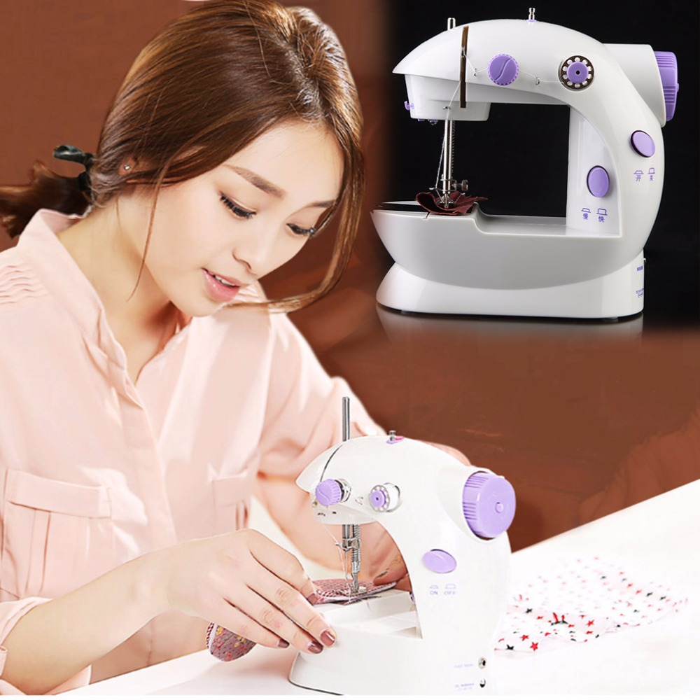 New Arrival Small Household Electric Mini Multi Function Portable Sewing Machine Sewing Tailor Knitting Machine Drop Shipping