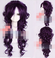 003848 sexy lady lolita wig full long curly hair  cosplay purple wigs